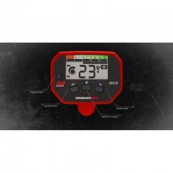 Detector de metales Vanquish 340 pantalla