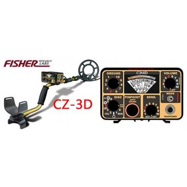 Detector de metales FISHER LABS CZ 3D PRO