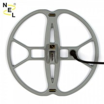 PLATO NEL TORNADO 30,5X33 CM para detectores de metales FISHER F2 Y F4